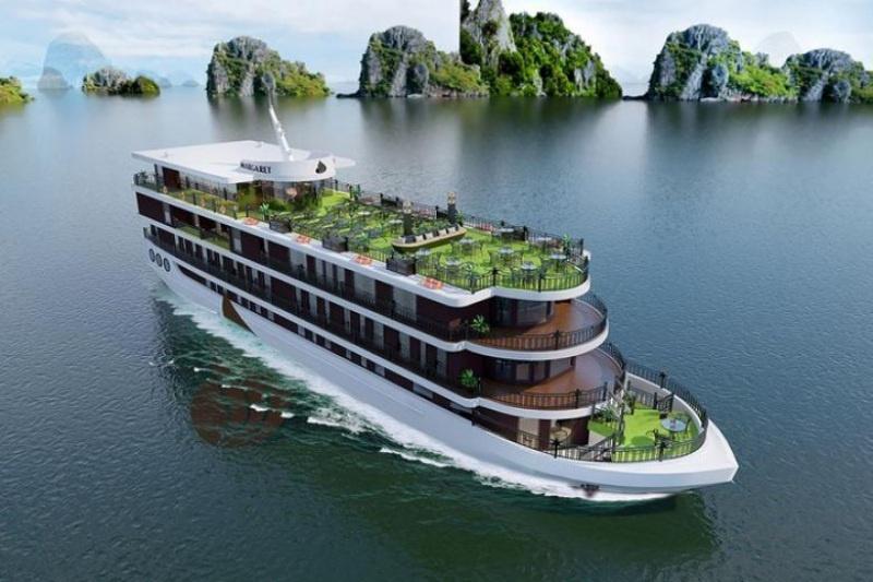 Giấc mơ được thưởng ngoạn vịnh Hạ Long bằng du thuyền thường sẽ mang điềm lành